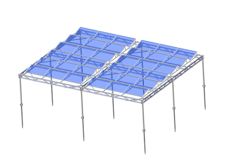 Solar Agricultural Mount-Steel Mounting System